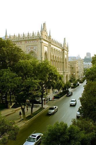 Istiglaliyyat Street - Image: İsmailiyyə palace common