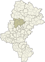 Location of the powiat in the voivodeship