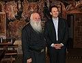 Επίσκεψη ΥΠΕΞ Δ. Δρούτσα στο Άγιο Όρος FM Droutsas visits Mount Athos (3-4.06.2011) (5796133496).jpg