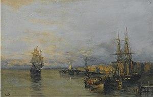 Κωνσταντίνος Βολανάκης - Κατά μήκος της ακτής.jpg