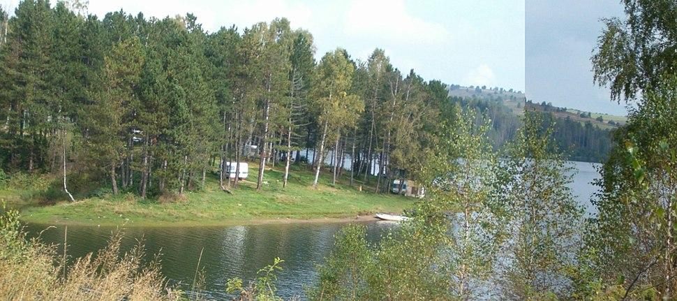 Бивак у Власина Риду - Camp Site in Vlasina Rid