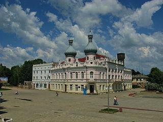 Borshchiv City in Ternopil Oblast, Ukraine