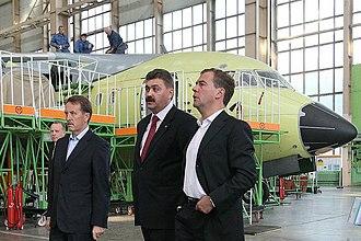 Voronezh Aircraft Production Association - Image: Воронежский авиационный завод (2010 09 06)