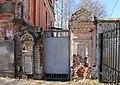 Ворота дома причта на Шевченко 1.jpg