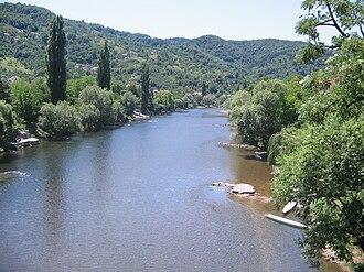 Vrbas (river) - Image: Врбас са Зеленог моста