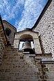 Долна перспектива на најголемото ѕвоно на Св. Јован Бигорски.JPG