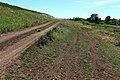 Дорога у подножия горы Верблюжка в южном направлении - panoramio.jpg