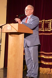 Космонавт Анатолий Павлович Арцебарский Екатеринбург 18 апреля 2019 года.jpg