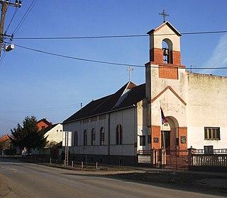 Kukujevci Village in Vojvodina, Serbia