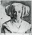 Міхель Свертс. Портрет невідомої дівчини 1656 р.jpg
