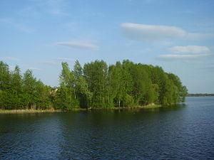 Voronezh River - Image: Остров 15.05