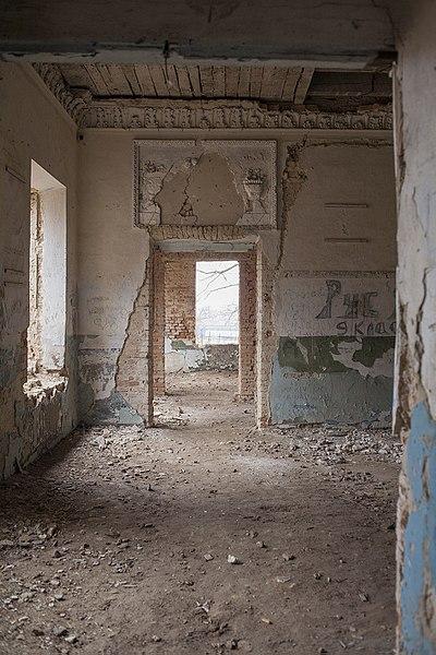 Палац Тора Ланге, інтер'єр, Нападівка, Вінницька область. Автор Vadkoz, вільна ліцензія CC BY-SA 4.0