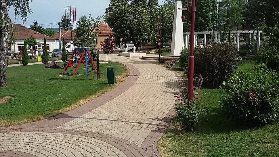 Парк у Косјерићу