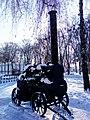 Парова машина-локомобіль Херсонського локомобільного заводу у центрі селища Диканька Полтавської області(4).jpg