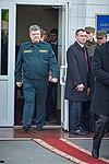Президент України Петро Порошенко привітав молодих офіцерів з випуском 106 (16323349554).jpg