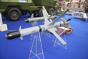 ALAS (missile) - Advanced Light Attack System, on display