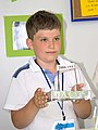 Сергей Голдаков (3 класс 428 школа Москва) со своим макетом.jpg