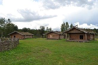 Lyubytinsky District - Recreation of ancient Slavic village, Lyubtinsky District