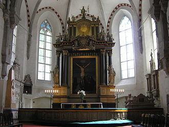 Christian Ackermann - Altarpiece of St Mary's Cathedral, Tallinn
