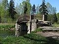 Чугунный мост в Гатчинском парке около Холодной ванны - 2011.05.14.jpg