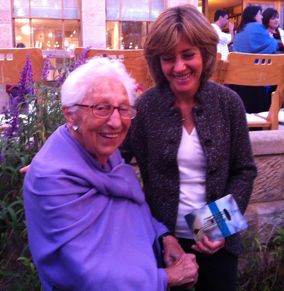 אליס שלוי ובברלי ברקת, ירושלים 2013
