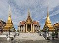 วัดพระศรีรัตนศาสดาราม วัดพระแก้ว กรุงเทพมหานคร - Wat Phra Kaew, Temple of Emerald Buddha, Bangkok, Thailand.jpg