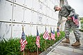 """""""Flags in"""" with The Old Guard in Arlington National Cemetery (17948108482).jpg"""