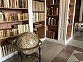 ウプサラ大学図書館カロリナ・レヴィディヴァ特別閲覧室にある地球儀.jpg