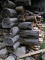 麓郷の森 黒板五郎の丸太小屋 ノッチ部分Akiyoshi's RoomP6220392.jpg