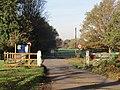 -2020-11-06 Cattle grid, Hanworth Common, Hanworth, Norfolk.JPG