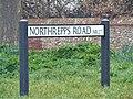 -2021-03-01 Street name sign, Northrepps Road, Overstrand, Norfolk.JPG