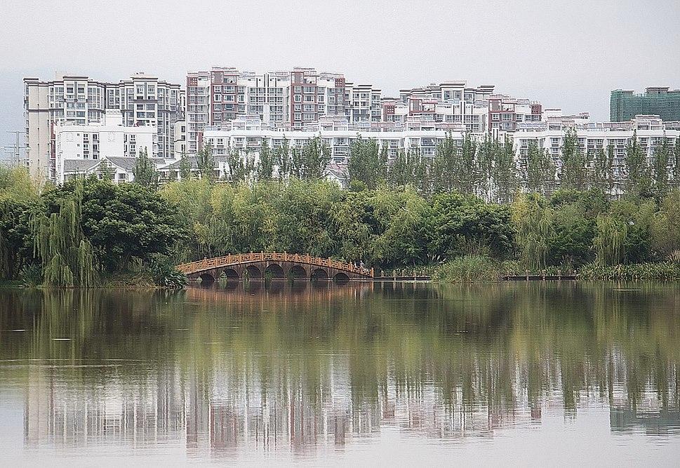 Skyline of Xichang