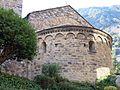 042 Sant Esteve (Andorra la Vella), absis romànic.JPG