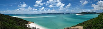 Whitsunday Islands - Image: 06. Whiteheaven Beach