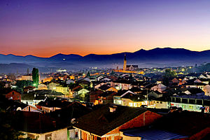 07 Gjakova Naten Gjakova at Night.jpg