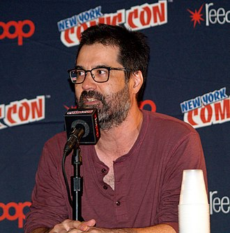 Greg Pak - Pak at the 2017 New York Comic Con