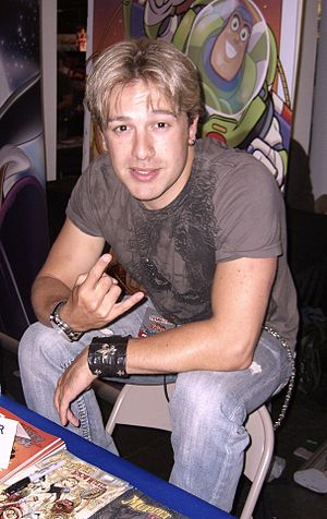 Jesse Blaze Snider - Snider at the New York Comic Convention in 2010