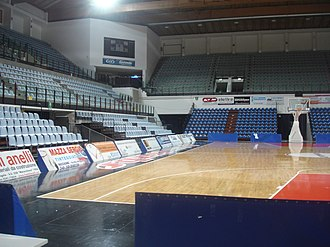 Basket Rimini Crabs - Crabs played at 105 Stadium between 2003 and 2011.