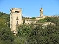 116 Sant Jeroni de la Murtra, des del camí de Santa Coloma.JPG