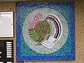 1210 Pastorstraße 5 - Stg 61 - Großfeldsiedlung - Hauszeichen-Mosaik Truthahn von Gerhard Wind IMG 3401.jpg