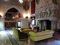 124 Castell de Santa Florentina (Canet de Mar), saló del tron.JPG