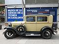 125 Fira Modernista de Terrassa, mostra de cotxes d'època a la Rambla.JPG