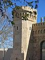 145 Sant Miquel dels Reis (València), torre del portal d'accés al recinte.jpg