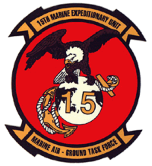 15th Marine Expeditionary Unit - 15th Marine Expeditionary Unit Insignia
