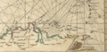 1672 Coro detail Chart of the West Indies by John Seller BPL 15020.png