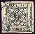 1853 Württemberg 9kr Blaubeuren.jpg