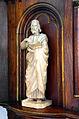 1860 Evangelisten-Skulptur von Georg Hurtzig, Kanzel der Klosterkirche Marienwerder, Hannover, 01.JPG