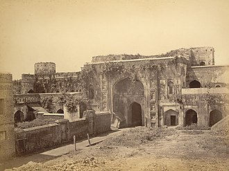 History of Dhaka - 1870 photograph of Bara Katra