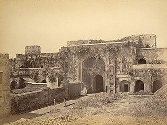 Bara Katra - 1870 photograph of Bara Katra