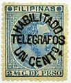 1887 1c telegraph stamp of the Philippines.jpg
